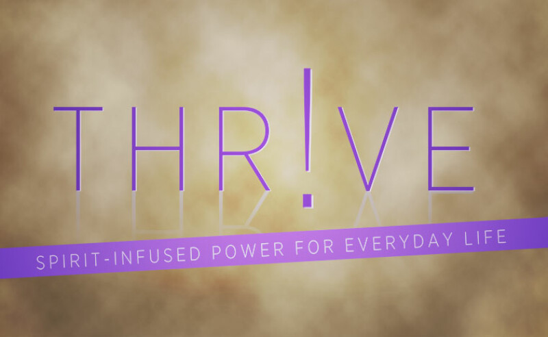 Thrive Group Leader Training