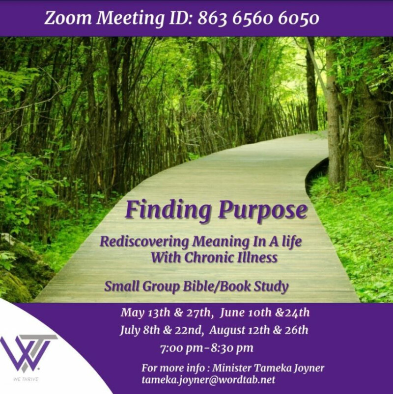 Finding Purpose - Living with Chronic Illness
